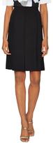 Carolina Herrera Patch Pocket Pleated Flared Skirt