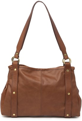 Hobo Pinion Leather Satchel Bag