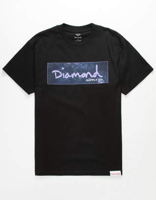 Diamond Supply Co. Cosmos Box Logo Mens T-Shirt