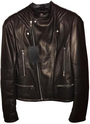 Atelier Vm Black Leather Jacket for Women