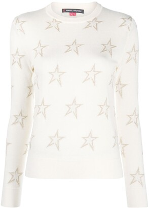 Perfect Moment Floro star knit jumper