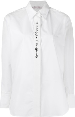 Stella McCartney We are the weather shirt