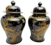 One Kings Lane Vintage Famille Noire Ginger Jars