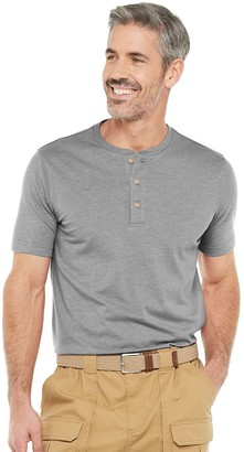 Croft & Barrow Men's Classic-Fit Extra Soft Easy-Care Henley in Regular and Slim Fit