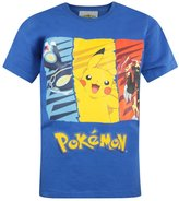 Pokemon Garçons - Official T-Shirt (9-10 Ans)