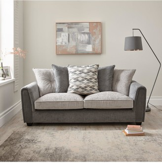 Orson 3 Seater + 2 Seater Fabric Scatter Back Sofa Set