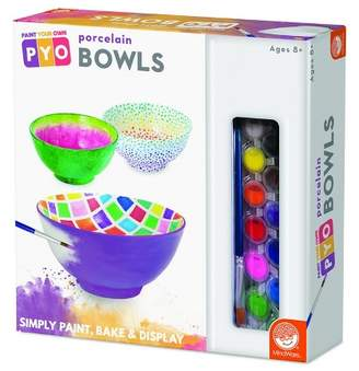 Your Own MindWare Paint Porcelain Bowls
