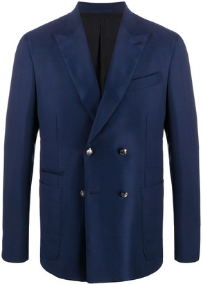 Ermenegildo Zegna Double-Breasted Formal Blazer