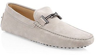 Tod's City Gommino Suede Bit Driver