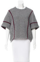 Fendi Wool Chevron Sweater w/ Tags