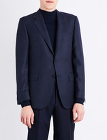 Canali Regular-fit checked wool jacket