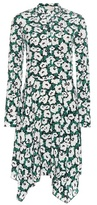 Stella McCartney Floral printed silk dress