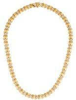 Tiffany & Co. Diamond X Collar Necklace