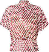 RED Valentino Camicia printed blouse - women - Silk - 46