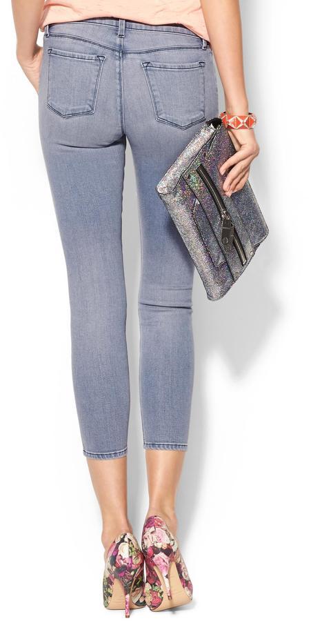 J Brand Mid Rise Crop Jean