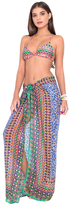 Luli Fama Lil Gem Pareo In Multicolor (L448629)