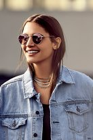 Free People Ring Leader Metal Necklace