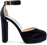Jimmy Choo Velvet Daphne Heels