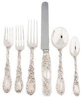 Tiffany & Co. 84-Piece Chrysanthemum Flatware Set