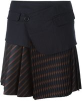 A.F.Vandevorst knife pleat skirt