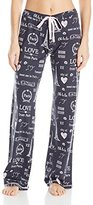 PJ Salvage Women's City of Love Lounge Pant