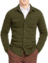 Polo Ralph Lauren Cotton Blend Shirt Jacket