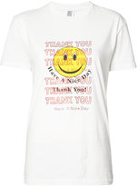 Rosie Assoulin 'Thank You Smiley Face' T-shirt - women - Cotton - XS