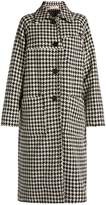 Marni Hound's-tooth checked car coat