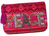 Ale By Alessandra 'ale by alessandra Women's Peach Of Cake Hand Embroidered Beaded Clutch