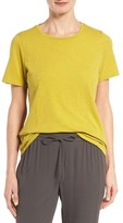 Eileen Fisher Women's Slub Cotton Jersey Tee