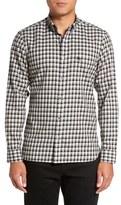 Burberry 'Kingswell' Trim Fit Plaid Sport Shirt