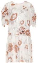 See by Chloe Metallic floral minidress