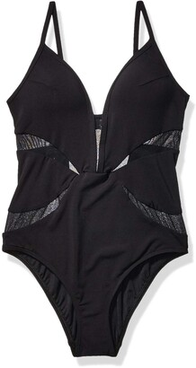 Jets Women's Aspire Plunge One Piece