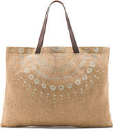 The Beach People Jute Wategos Bag in Tan.