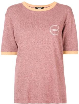 Calvin Klein contrast trim T-shirt