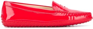 Tod's Penny-Slot Flat Loafers