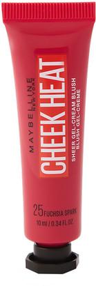 Maybelline Cheek Heat Sheer Blusher Fuchsia Spark