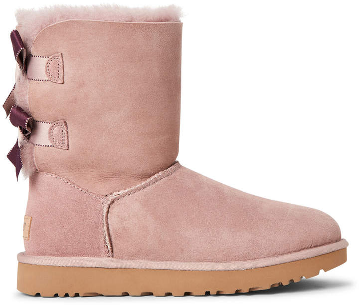 a241e91f905 Dusk Bailey Bow II Shimmer Real Fur-Lined Boots