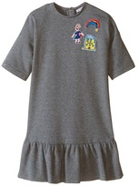 Dolce & Gabbana Back to School Sweatshirt Dress (Toddler/Little Kids)