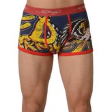 Ed Hardy Men's Eagle Has Landed Trunk - Red