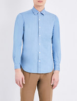 United Arrows Slim-fit denim shirt