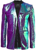 Unconditional sequined blazer