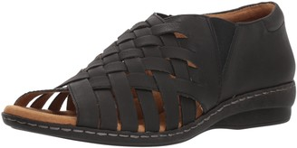 Soul Naturalizer Women's BAYE Flat Sandal Black 6 M US