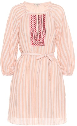 Lemlem Nefasi striped cotton minidress