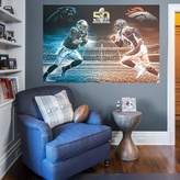 Fathead NFL Super Bowl 50 Collison Course Mural Wall Decal by