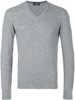 Hackett V-neck jumper - men - Silk/Cashmere/Merino - S