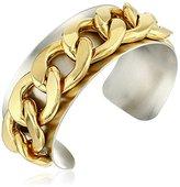 a.v. max Circle Silver Cuff Bracelet