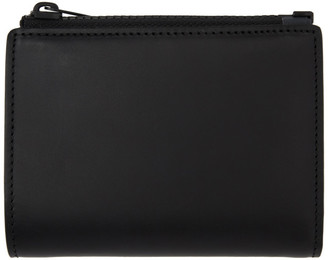 Maison Margiela Black Multi-Functional Trifold Wallet