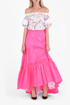 Peter Pilotto Taffeta Long Skirt