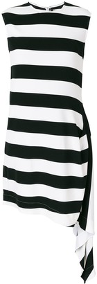 Calvin Klein Striped Flared Dress